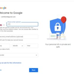 how to verify Gmail accounts